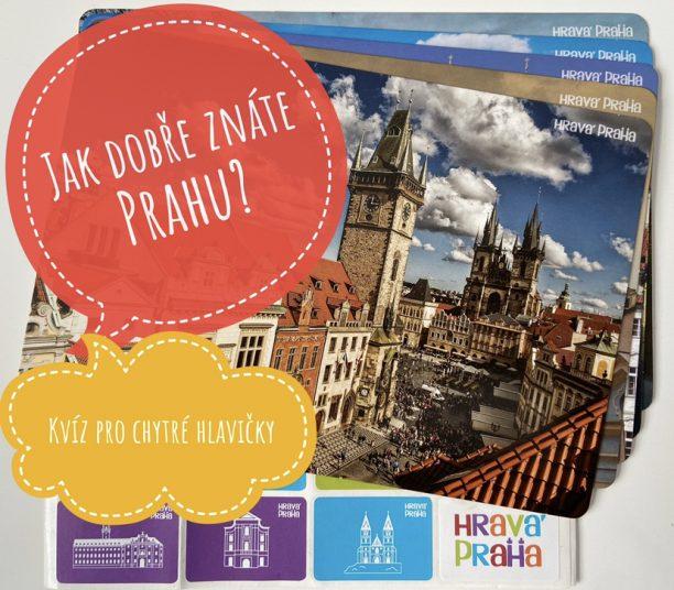 Zabavny kviz o Praze pro deti